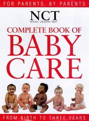 Cover of: Complete Book of Baby Care (National Childbirth Trust Guides)