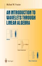 Cover of: An introduction to wavelets through linear algebra