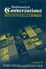 Cover of: Mathematical Conversations - Selections from The Mathematical Intelligencer | Robin Wilson