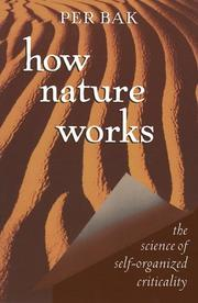 Cover of: How Nature Works | Per Bak