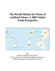 The World Market for Waste of Artificial Fibers