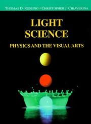 Cover of: Light science | Thomas D. Rossing