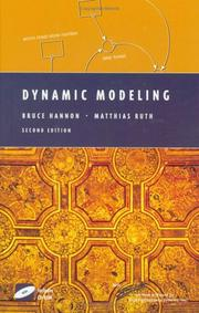 Cover of: Dynamic modeling