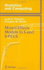 Cover of: Mixed Effects Models in S and S-Plus | Jose C. Pinheiro