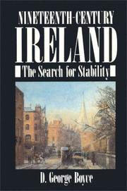Cover of: Nineteenth-century Ireland