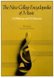 Cover of: The New College Encyclopedia of Music | J. A. Westrup