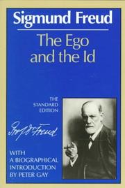 Cover of: The ego and the id | Sigmund Freud
