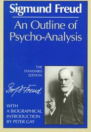 Cover of: An Outline of Psycho-Analysis | Sigmund Freud