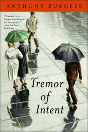 Cover of: Tremor of Intent