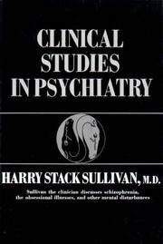 Cover of: Clinical Studies in Psychiatry