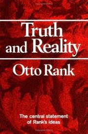 Cover of: Truth and reality