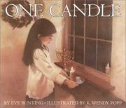 Cover of: One candle | Eve Bunting