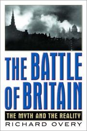 Cover of: The Battle of Britain: the myth and the reality