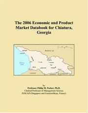 The 2006 Economic and Product Market Databook for Chiatura, Georgia