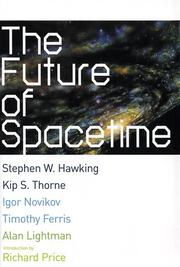 Cover of: The future of spacetime