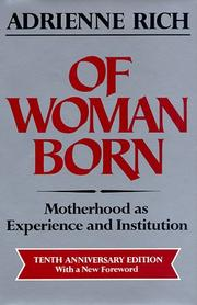 Cover of: Of woman born