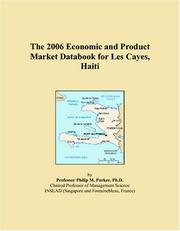 The 2006 Economic and Product Market Databook for Les Cayes, Haiti