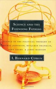 Cover of: Science and the Founding Fathers