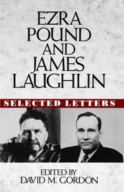 Cover of: Ezra Pound and James Laughlin selected letters: Selected Letters