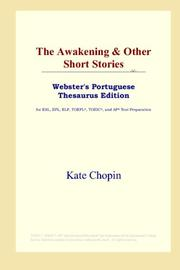 Cover of: The Awakening & Other Short Stories
