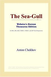 Cover of: The Sea-Gull (Webster