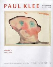 Cover of: Paul Klee Catalogue Raisoneé Volume I | Paul Klee Foundation