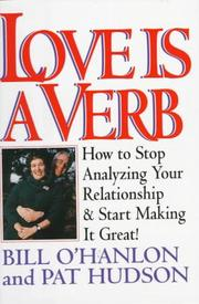 Cover of: Love is a verb | William Hudson O