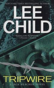 Cover of: Tripwire | Lee Child
