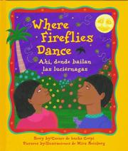 Cover of: Where Fireflies Dance/Ahi, Donde Bailan Las Lucienagas