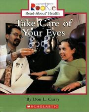 Cover of: Take Care Of Your Eyes