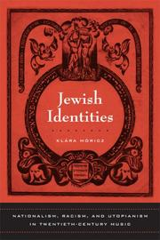 Cover of: Jewish Identities | Klara Moricz