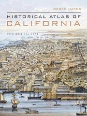 Cover of: Historical atlas of California