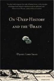 Cover of: On deep history and the brain