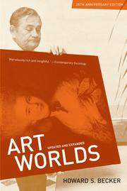 Cover of: Art Worlds