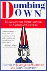 Cover of: Dumbing down |