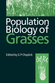 Population Biology of Grasses by