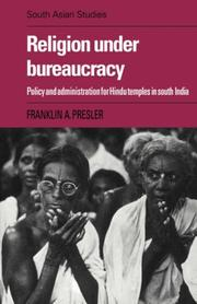 Religion under bureaucracy by Franklin A. Presler