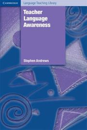 Cover of: Teacher Language Awareness (Cambridge Language Teaching Library) | Stephen Andrews