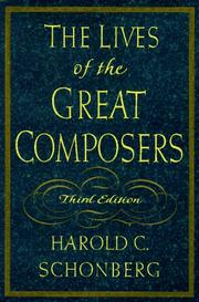 Cover of: The lives of the great composers