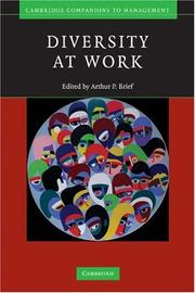 Cover of: Diversity at Work