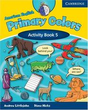 Cover of: American English Primary Colors 5 Activity Book | Diana Hicks