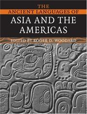 Cover of: The Ancient Languages of Asia and the Americas |