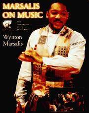 Cover of: Marsalis on Music