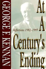 Cover of: At a Century's Ending