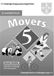 Cover of: Cambridge Young Learners English Tests Movers 5 Answer Booklet