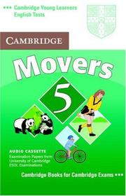 Cover of: Cambridge Young Learners English Tests Movers 5 Audio Cassette
