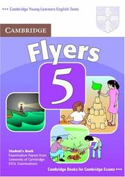 Cover of: Cambridge Young Learners English Tests Flyers 5 Student's Book