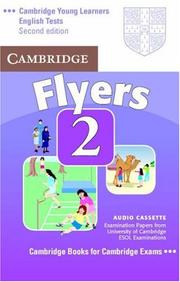 Cover of: Cambridge Young Learners English Tests Flyers 2 Audio Cassette