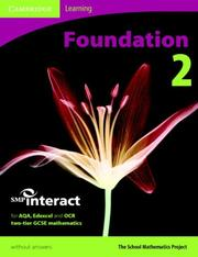 Cover of: SMP GCSE Interact 2-tier Foundation 2 Pupil
