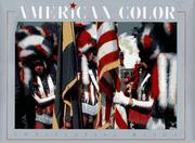 Cover of: American color